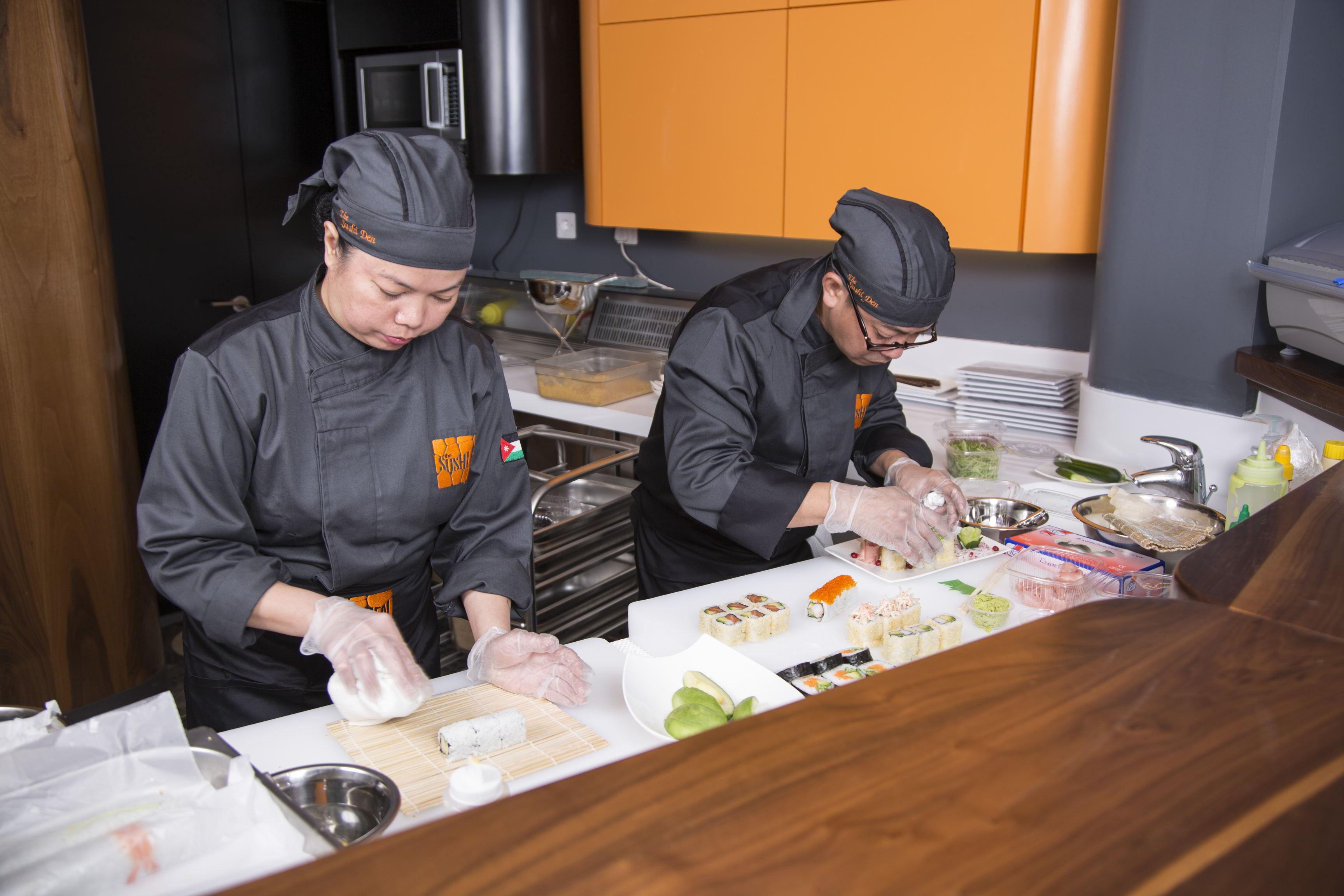 Chef Amy & Chef Gabriel
